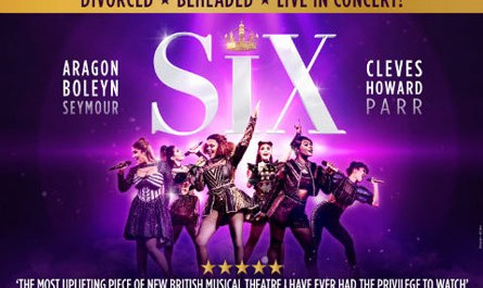 SIX the musical poster image