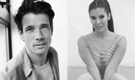 Danny Mac and Aimie Atkinson