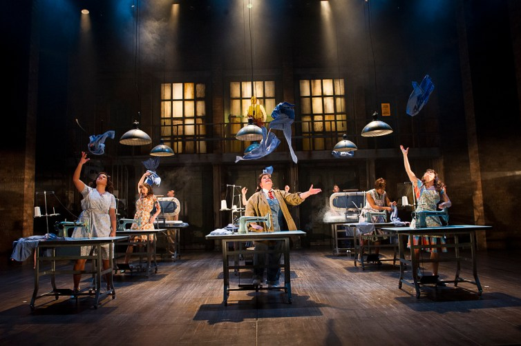Richard Eyre's The Pajama Game was financed through equity crowdfunding site Seedr