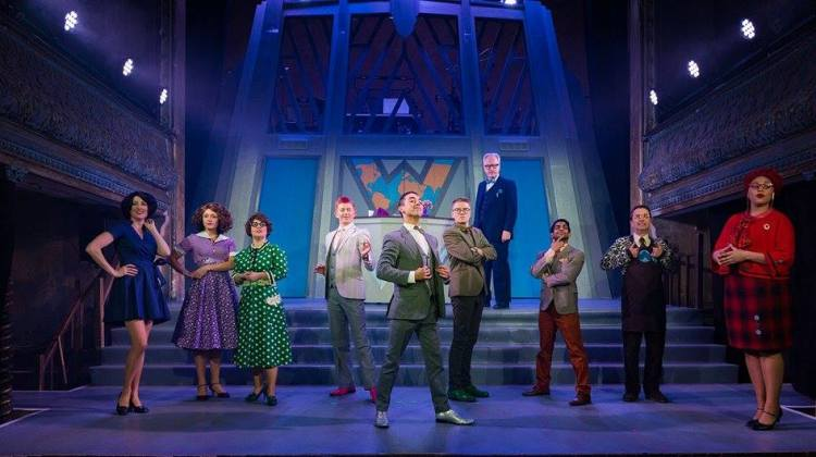"""<div class=""""category-label-review"""">Review</div><div class=""""category-label"""">/</div>How To Succeed In Business Without Really Trying at Wilton's Music Hall"""