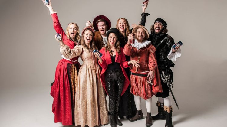 """<div class=""""category-label-review"""">Review</div><div class=""""category-label"""">/</div>Shit-faced Shakespeare: Much Ado About Nothing at the Leicester Square Theatre"""
