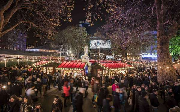 Leicester Square London Christmas Market