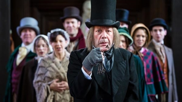 "<div class=""category-label-interview"">Interview</div><div class=""category-label"">/</div>Interview with David Burt, Ebeneezer Scrooge in Antic Disposition's A Christmas Carol"