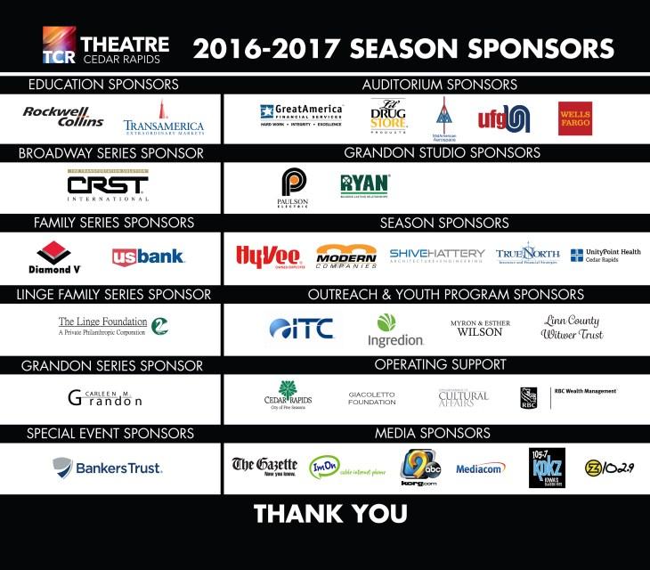 TCR_Sponsor Lobby Display_2016-17