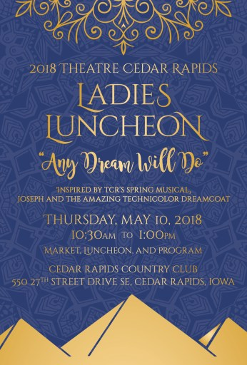 "Ladies Luncheon – ""Any Dream Will Do"""