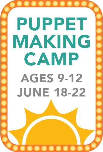Puppet Making Camp (Age: 9-12)