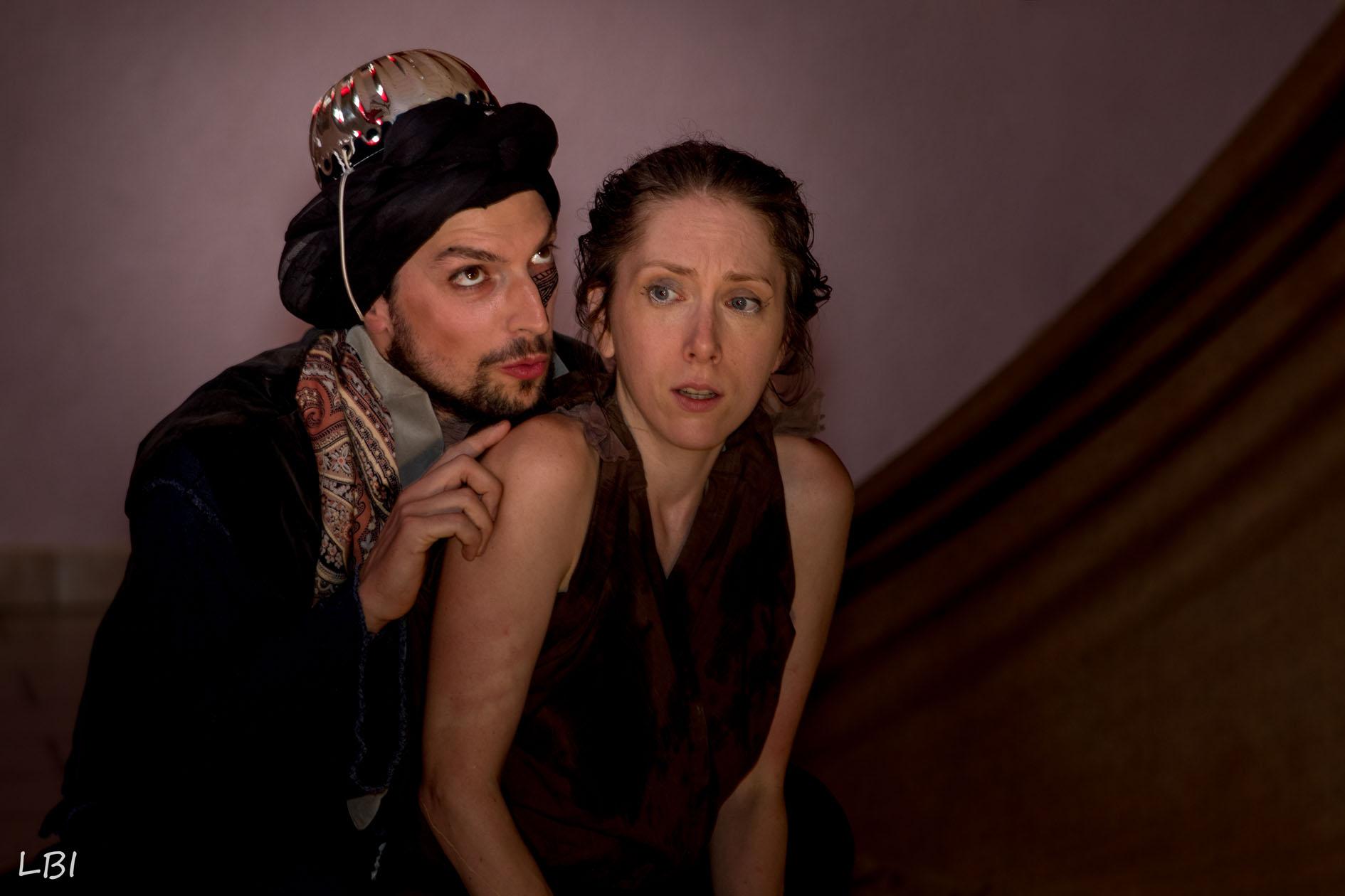 Saro et Salina dans le nouveau spectacle du Théâtre d'Anoukis : Salina