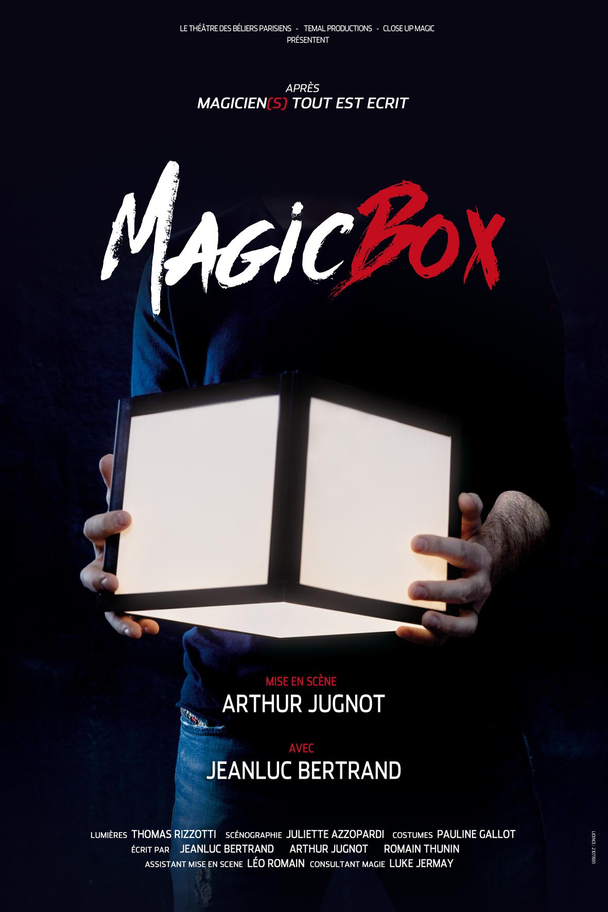 MagicBox - Affiche TOURNEE 10x15