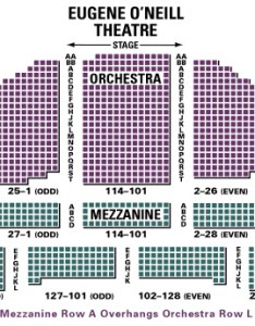 Eugene   neill theatre also seating chart and access information rh theatregold