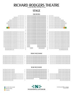 also richard rodgers theatre seating chart and access information rh theatregold