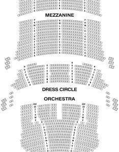 Cibc theatre seating chart also in chicago rh theatreinchicago