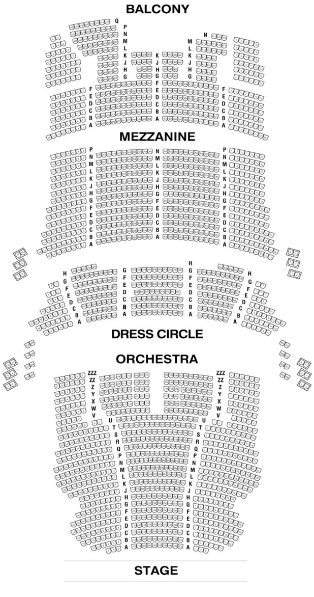 Note For More Details On The Good And Bad Seats Click Here To See Cibc Theatre Seating