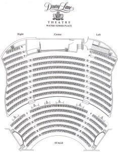 Drury lane water tower seating chart also theatre in chicago rh theatreinchicago