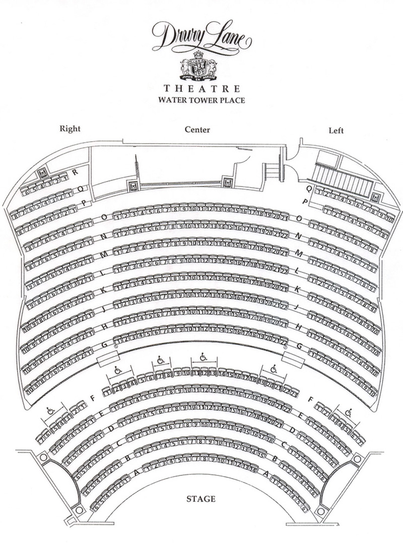 medium resolution of drury lane water tower seating chart