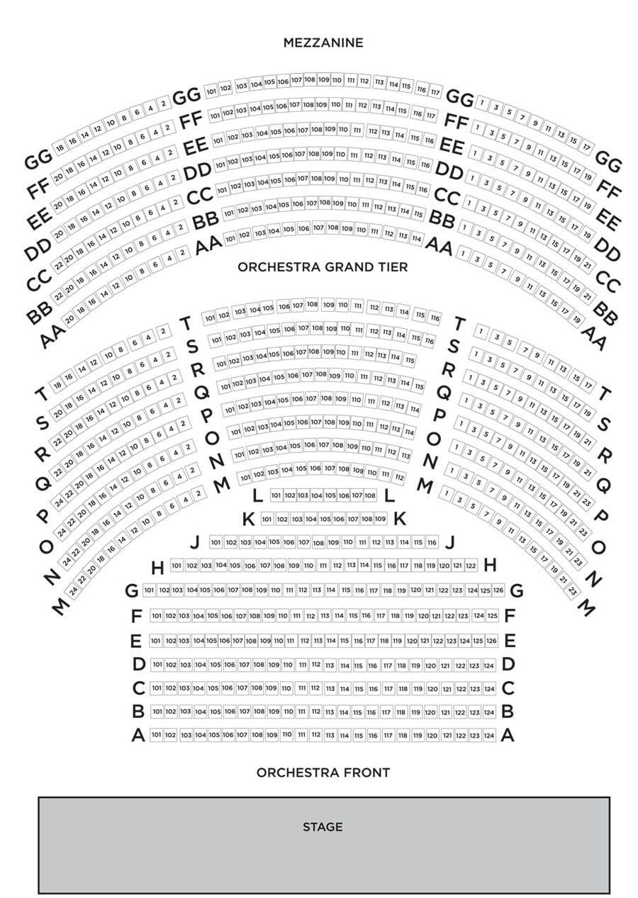 Sidney harman hall seating : Which audio technica