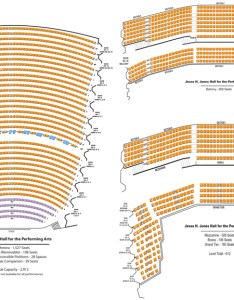 Jones hall seating chart also theatre in houston rh theatreinhouston