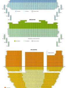 Ahmanson theatre seating chart also in la rh theatreinla