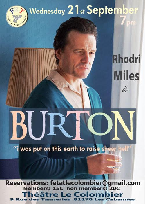BURTON poster