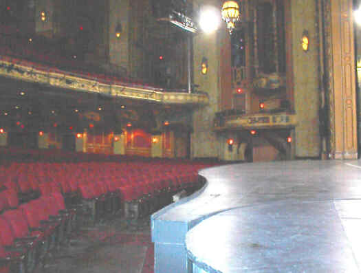 Interior of sheas Buffalo Theater Auditorium