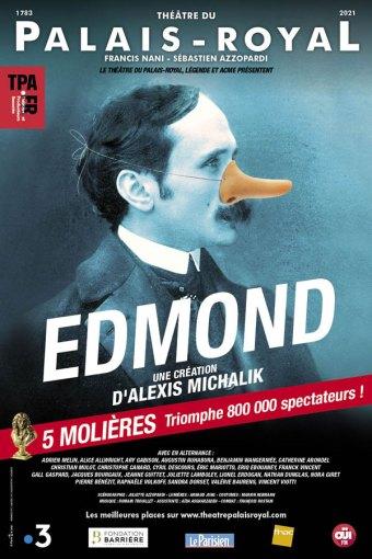 Edmond d'Alexis Michalik voir au théâtre à Paris