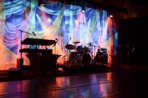 TheatreWorld's Le Cirque Celebration Backdrop at The Bridge Project's Annual Gala