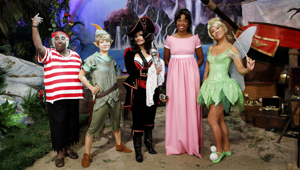 "CBS ""The Talk"" 2014 Halloween Episode with TheatreWorld's Professional Neverland Scenic Backdrop"