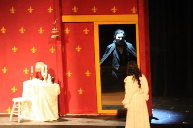 Student Performers in Park Hill South's Phantom of the Opera