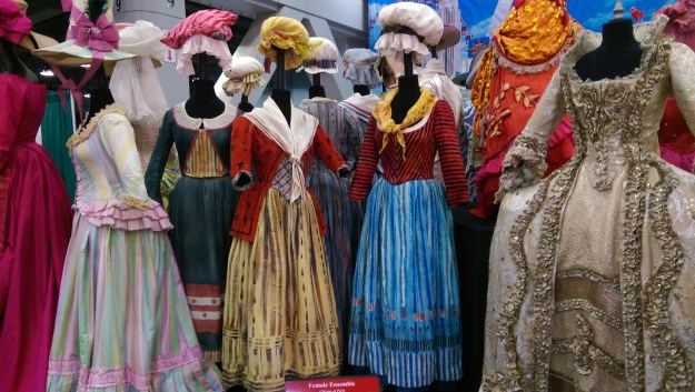 Snow White and fairy tale costumes at 2015 USITT Stage Expo