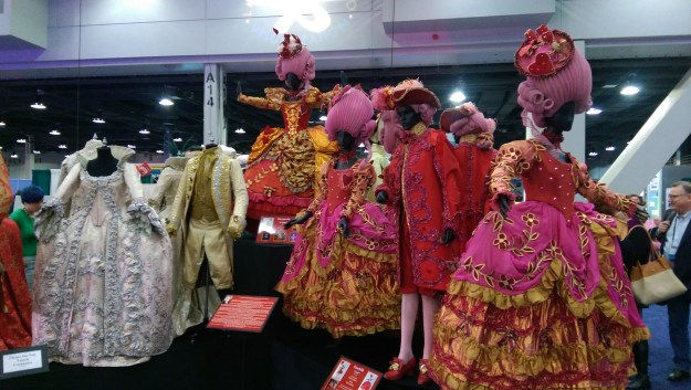 Royalty and Queen of Hearts Costumes at USITT 2015 Stage Expo
