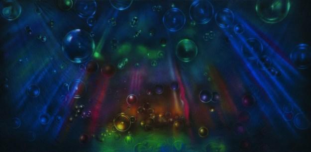 Alice in Wonderland, Bubble Lights Professional Scenic Backdrop