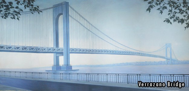 2015-2016 Seasons - Verrazano Bridge Professional Scenic Backdrop