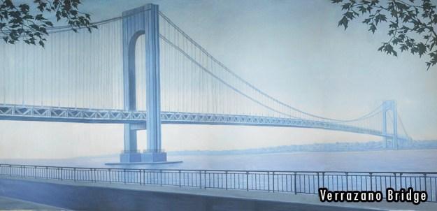 2015-2016 Seasons - Verrazano Bridge Professional Scenic Backdrop