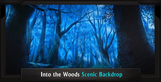 INTO THE WOODS Professional Scenic Shrek Backdrop