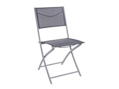 folding yard chair hickory sideboard malta outdoor furniture garden bbq barbecue the atrium alu metal