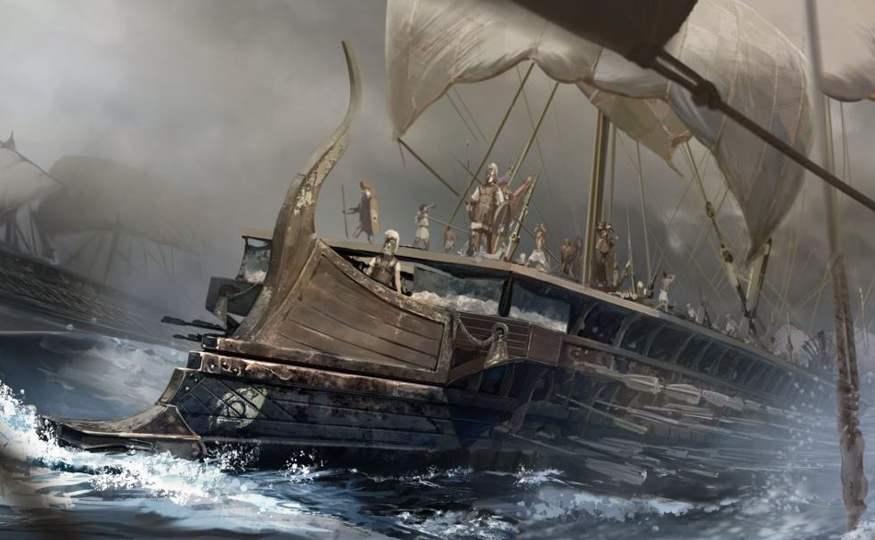 Navire antique