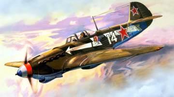 """Yak de l'escadrille """"Normandie-Niemen"""""""