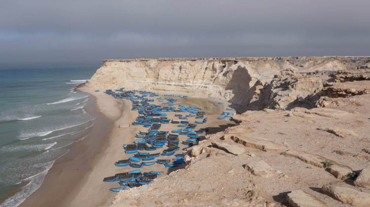 Futur site du projet portuaire Dakhla Atlantique