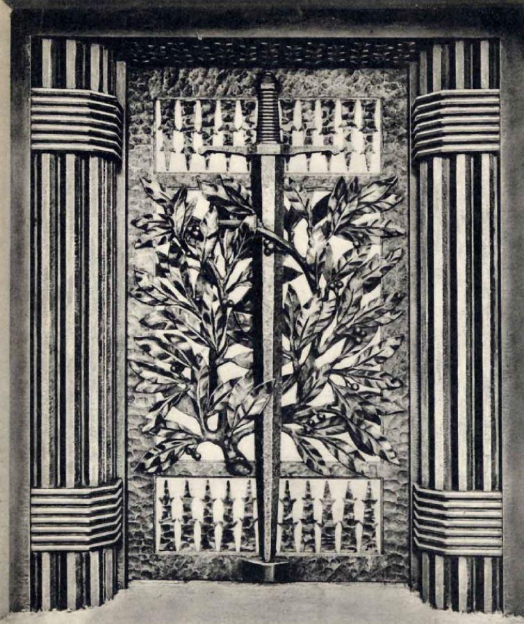 Porte tranchée baïonnettes