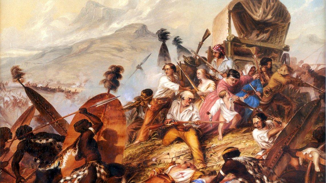 Blood River. 1838.
