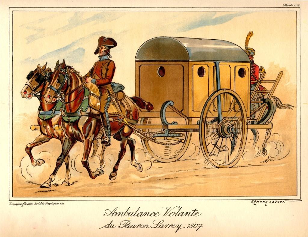 Ambulance volante de Larrey
