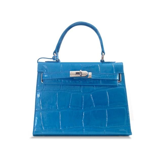 Amelie Handbag - Cerulean Blue