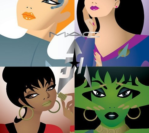 MAC x Star Trek – il make up diventa stellare