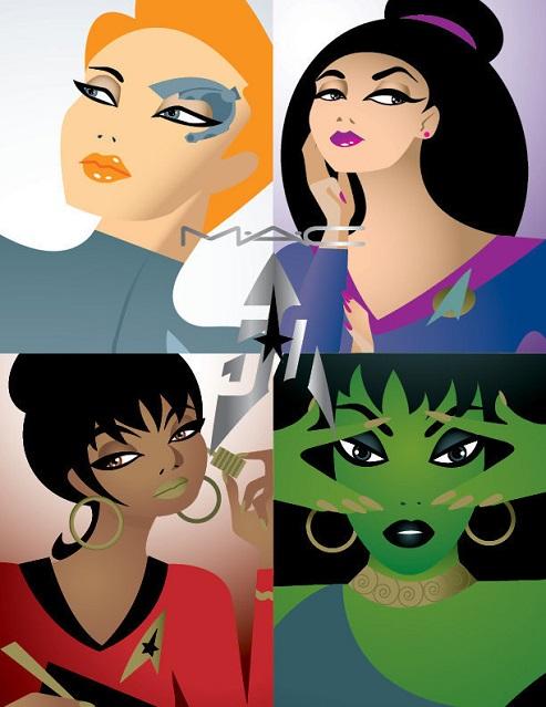 MAC x Star Trek – il make up diventa stellare