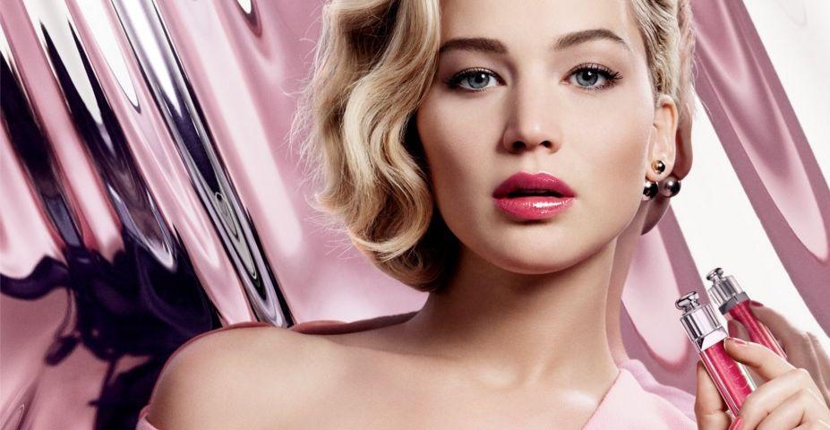 Jennifer Lawrence per Dior Addict, the new plumping ultra-gloss