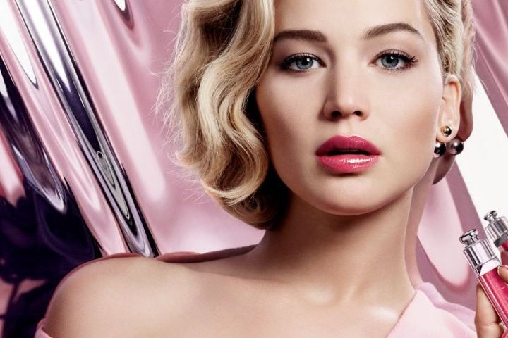 Jennifer Lawrence per Dior Addict, the new plumping ultra-gloss