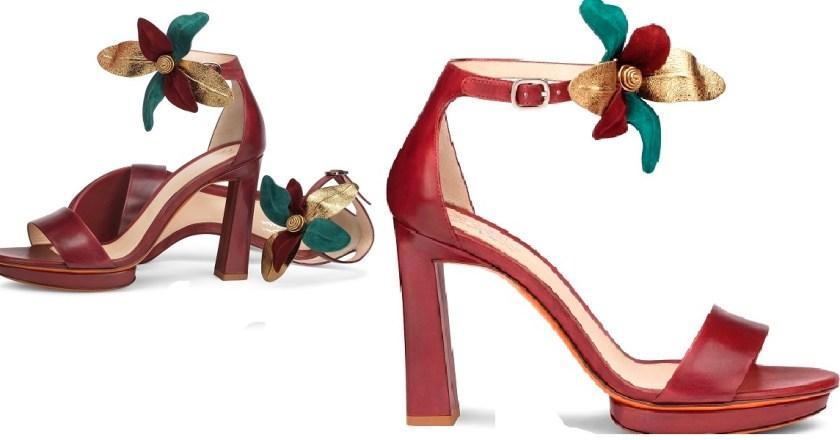 Santoni festeggia la Primavera con il nuovo sandalo FLORA
