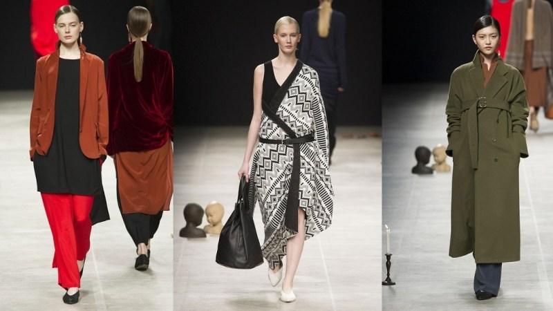 MFW – la donna di Lucio Vanotti tra eleganza e geometrie