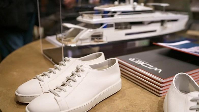 Santoni lancia la sneaker personalizzata per l'equipaggio Wider