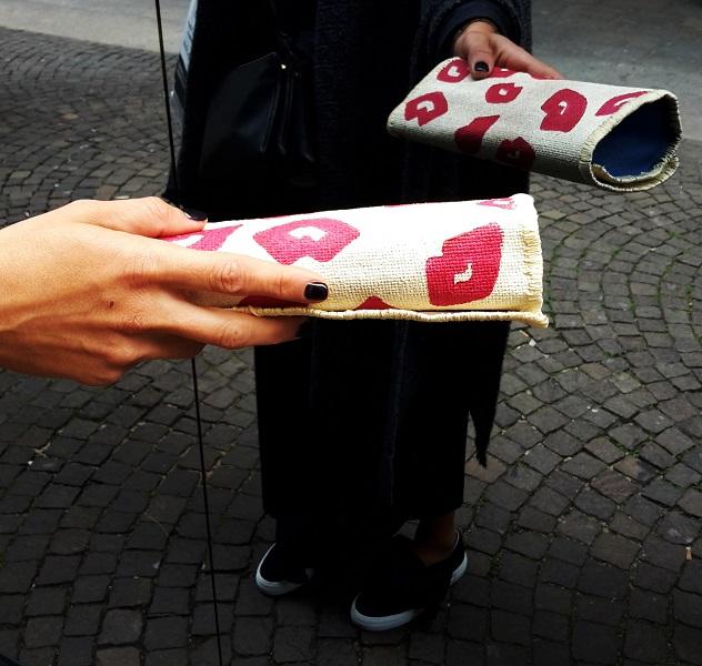 Le pochette Handmade di Paola Di Domenico: oggetti d'arte e accessori moda