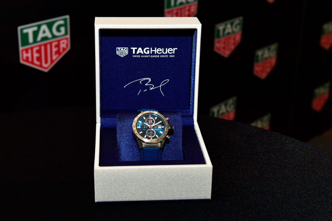 TAG Heuer svela il Tom Brady's Limited Edition Carrera